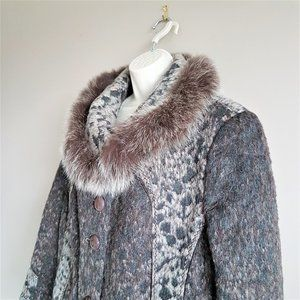 Favoritti winter coat with real fur.